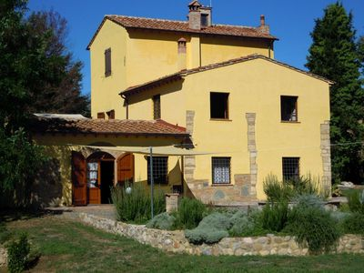 Photo for Antique mill, in the green Tuscan countryside with garden and barbecue