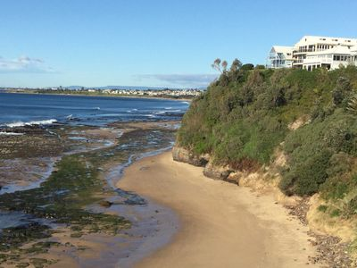 180 Degrees & the private beach below.