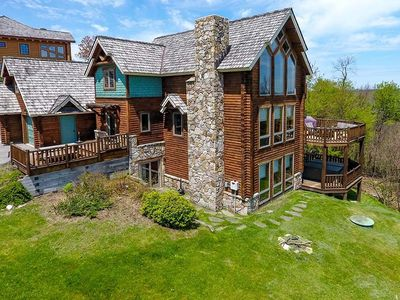 Photo for Double Diamonds- 6 bedroom ski in/ski out lake access home atop Wisp Resort