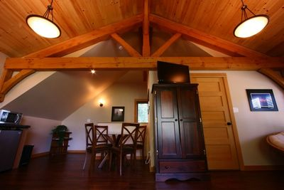 Timberloft - watch some TV and relax after a day out