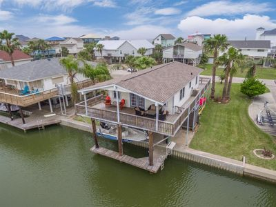 Photo for Canal-Front Home with Private Dock