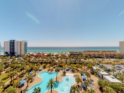 Photo for Waterfront resort condo w/ a shared, heated pool, fitness room, & theater