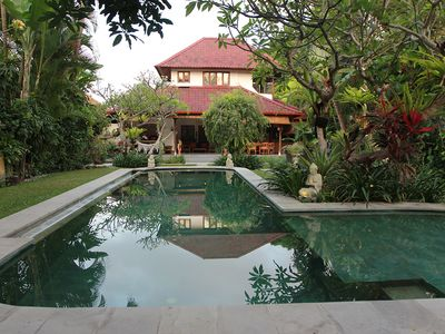 Photo for 6 Bedrooms Combination, 2 Private Pools, Housekeeping staff, Central Seminyak