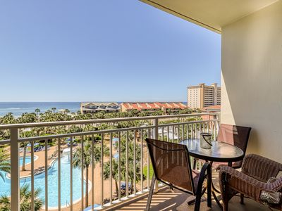 Photo for Sleek condo @ Sterling Shores w/shared pool, gym, theater & ocean views