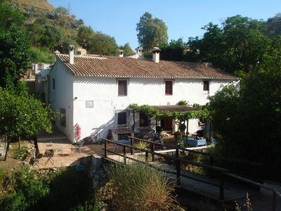 Photo for Old mill on the river, within walking distance of the village