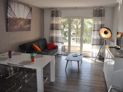 Photo for 3 rooms completely redone, calm and sunny