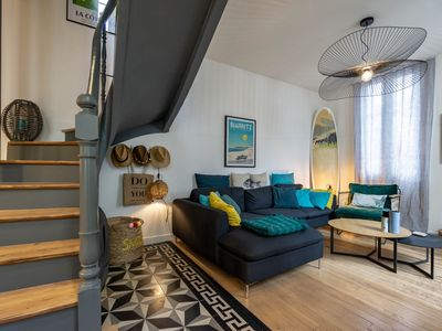 Photo for YOUCCA // SURF SHACK very cosy and well decorated townhouse in Biarritz