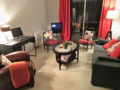 Photo for 60m ² entirely renovated center Lyon view Rhône