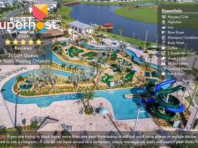 Photo for Free Water Park! NEW Home w/Pool 5miles to Disney!