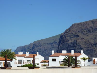 Photo for Luxury Apartment with Large Terrace, Overlooking Pool with Cliff Views