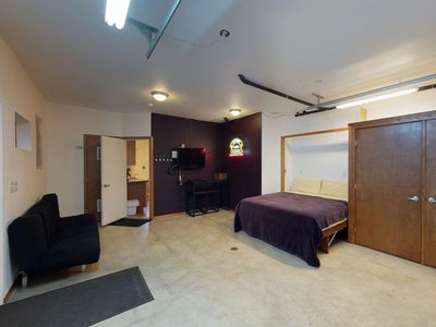 Photo for NEW LISTING: Cozy ground floor apartment near downtown Girdwood