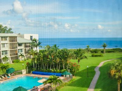 Photo for Beautiful beachview condo- internet, large pool, lanai, near amenities