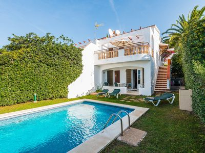 Photo for Villa Piscis: Large Private Pool, Sea Views, A/C, WiFi, Car Not Required