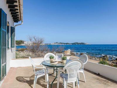 Photo for YourHouse Es Carregador charming house in front of the sea for 6 guests