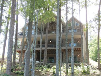 Photo for Daydreamer  8BR,/8.5BA, 6 suites, 2 story dock, 2 kitchen, 5000sq ft, 2 icemaker