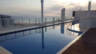 Photo for Fit Foot in the Sand! 3 beds Balcony, BBQ, Pool !!7 people!