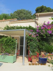 Photo for appart studio villa in Montpellier, sea 16km .. city center faculties hospitals