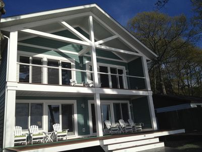 Photo for Newer Luxury Lakefront Home on Beautiful Lake Margrethe in Grayling, MI