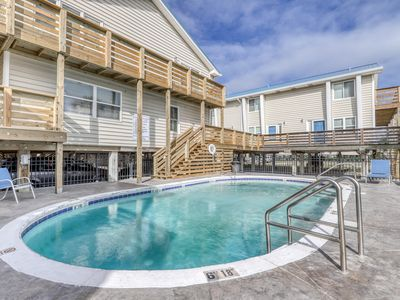 Photo for Condo near the water w/ a shared, outdoor pool, gas grill, & beach access!