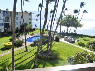 Photo for Amazing Views From Our Lanai, Just Steps to Secluded Sandy Beach, 2 King Beds