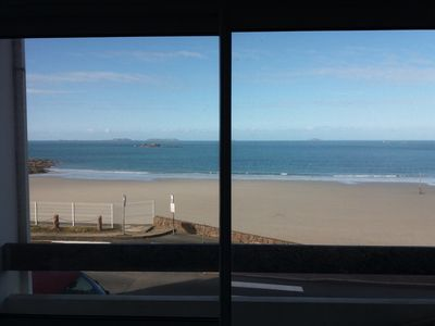 Photo for APARTMENT FEET IN THE WATER SEA 15 METERS WIFI PANORAMIC VIEW