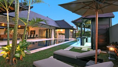 Photo for Luxury 5BR villa with 2 private pools & pool Bar, Seminyak