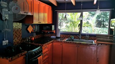 Photo for 1st floor Oceanview Beach Bungalow,  surf, power by solar pannel,kids playground