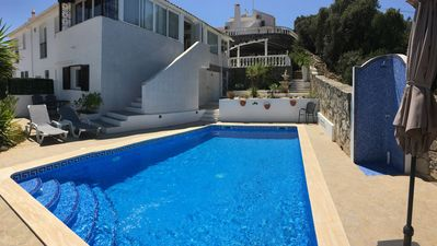 Photo for Large 2 Bed Villa   Private Pool   Free Wifi   Dining Terrace   BBQ   Near Shops