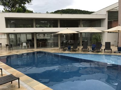 Photo for Cozy house in Praia de Camburi! Gated community at 150 meters from the beach!