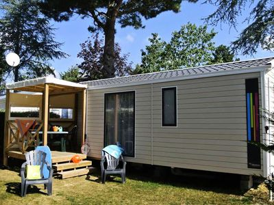 Photo for Camping Club Les Brunelles ***** - Cottage Vendeen Grand Confort TV Clim 3 Rooms 4/5 People