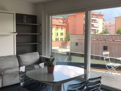 Photo for New Two-Room Apartment with Panoramic Terrace close to Lugano
