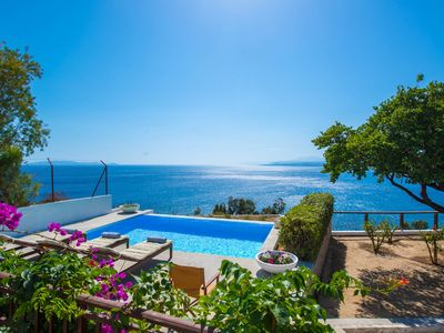 Photo for HELIDONI HILL SEAVIEW VILLA WITH SWIMMING POOL