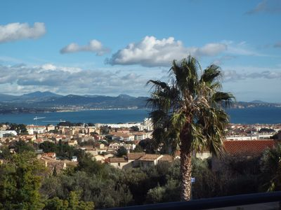 Photo for La Ciotat T3 comfortable, spacious, panoramic sea view, (tourist furnished 3 ***)