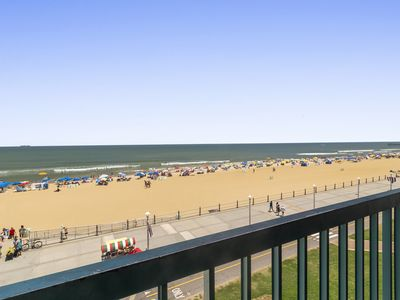 Photo for Enjoy Beautiful Ocean Views from this 2 Bedroom, 2.5 Bathroom Oceanfront Cond