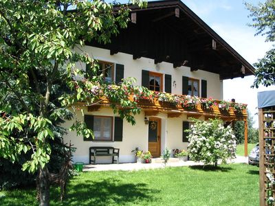 Photo for A very spacious 4-person holiday home near the Chiemsee.