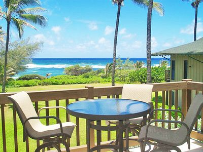 Photo for Kaha Lani 213: Beautiful Ocean front 2 br/2ba Corner condo with Great Views