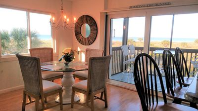 Our condo is on the corner, so you get more than 180 degree views of the beach!