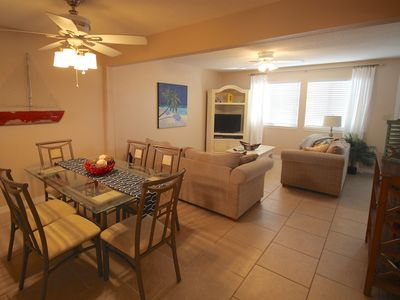 Photo for 2BR Gulf Front Complex/Pet Friendly/Heated Pool/Private Patio