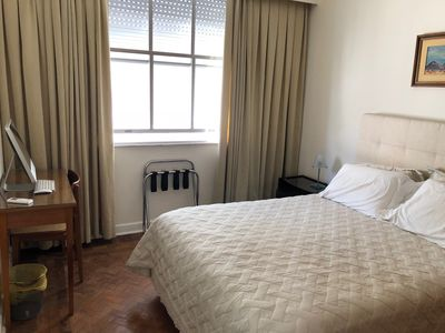 Photo for Comfortable Room in a Spacious Copacabana Apartment