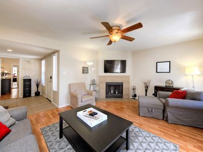 Photo for Stylish 2BR Condo w/ Pool & Hot Tub - Near Old Town, Gainey Village & Hiking
