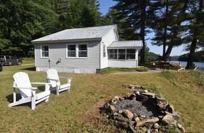 Photo for Three Hurricanes Landing - 2 Bedroom Cottage on the Beautiful Hudson River
