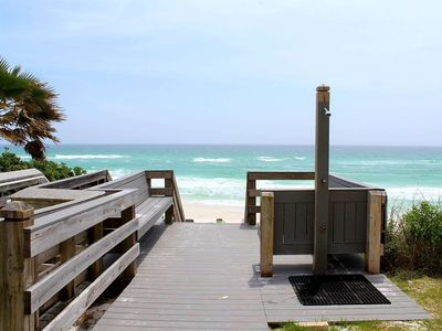 Photo for Gulf View Condo -Steps from Beach Access-Community Pool-1.5 Miles From Seaside!!