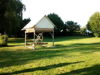Photo for Camping Les Portes d'Alsace *** - Bivouac 1 Room 2 People
