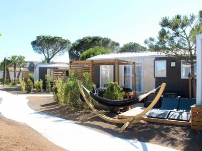 Photo for 2 bedroom Apartment, sleeps 5 in Portiragnes with Pool, Air Con and WiFi