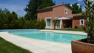 Photo for Contemporary Cottage Rental: wooded property, private pool, view Luberon