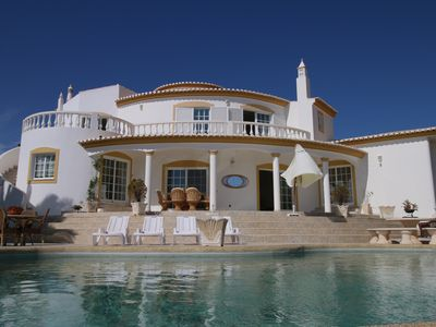 Photo for Sunny villa with 4 bedrooms, garden and pool