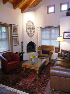 Photo for Charming Santa Fe Casita in Gated Compound