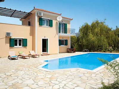 Photo for Villa set among mature gardens, with easy access to sandy beaches & neighbouring villages & resorts