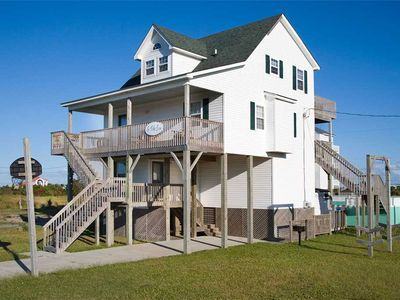 Photo for Live It Up at Rodanthe Oceanview Home w/ Pool, Hot Tub, Cmty Walkway to Beach