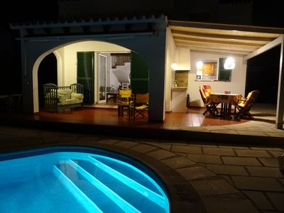 Photo for Private Pool, Nice Garden,  Air Cond, Wifi, Ping Pong Table, BBq